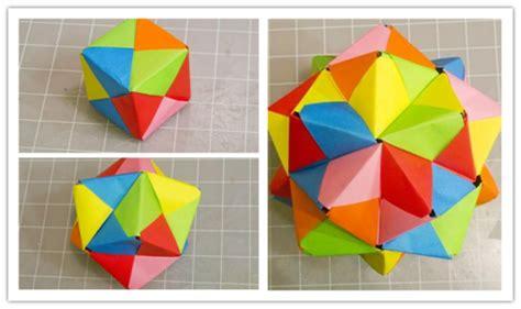 Easy Impressive Origami - ho to make modular origami cube octahedron icosahedron