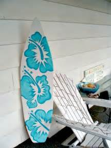 Surfboard Wall Decor by 4 Foot Wood Hawaiian Surfboard Wall Decor Or Headboard