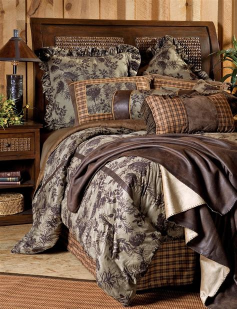 pinecone bedding moss pinecone bedding set carstens inc