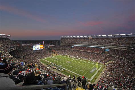 Gillette Stadium Gift Cards - gillette stadium in foxboro photograph by juergen roth