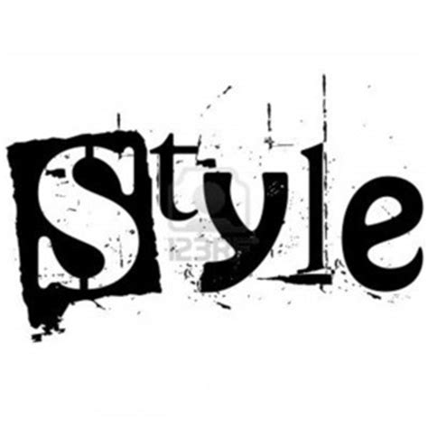 My Style my style image detail for the word style written in
