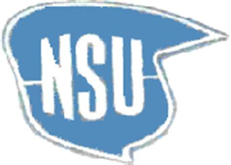 Nsu Motorr Der Logo by Quickly N Story Typenkunde Technische Daten Agria