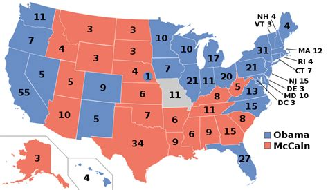 us map electoral votes 2008 obama vs romney 2012 race heats up in swing states