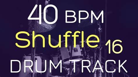 80 bpm shuffle beat drum track shuffle 40 bpm drums tracker
