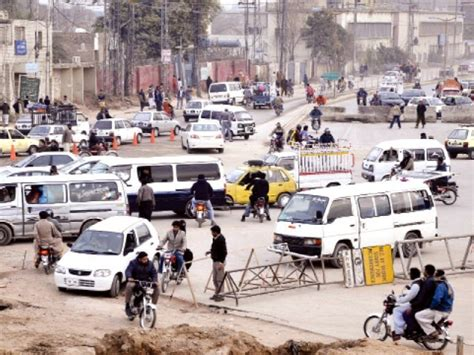 road widening marrir chowk diversions creating further