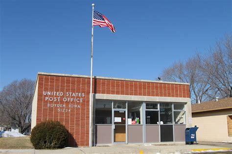 Hyvee Post Office by Post Office 51234 Boyden Iowa Iowa Backroads