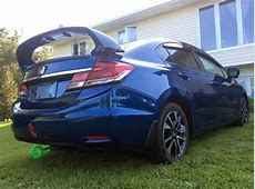 PRO Design TRM Style Spoiler / Wing for 2014 Honda Civic 2013 Civic Si Coupe Mugen Wing