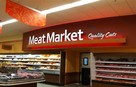 interior market design market decor design meat area
