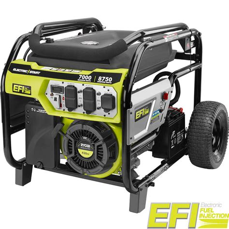 ryobi 7000 watt electronic fuel injected efi gasoline
