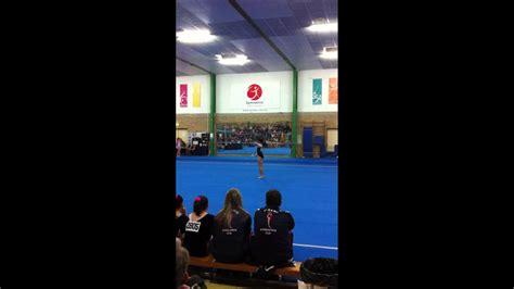 10 0 Level 4 Floor Routine by Pin Level 4 Gymnastics Floor Routine 2011 Australia