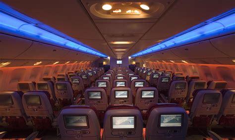 boeing 777 cabin comparing the qatar airways boeing 777 200lr the 787