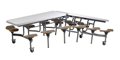School Dining Tables Mobile Folding School Dining Table Primo Folding Table Seating Unit