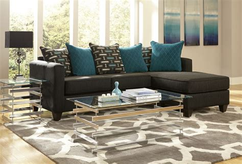 black and blue sofa sofa with reversible chaise black and blue affordable