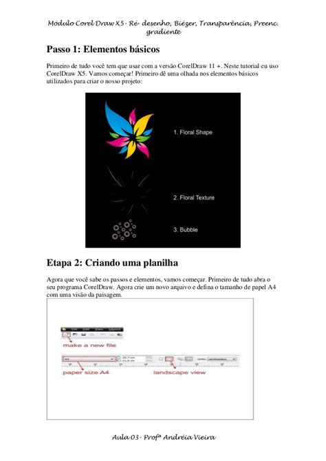 tutorial corel draw x5 en español tutorial corel 03