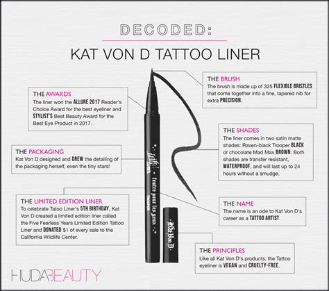 kat von d tattoo liner how to use makeup archives page 3 of 110 huda beauty makeup and