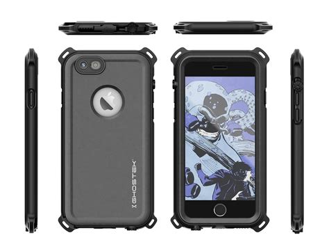 iphone  waterproof case ghostek nautical black