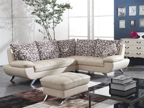 Modern Sofa For Small Living Room Modern Small Leather Sectional Sofa For Living Room Pictures Photos And Images For
