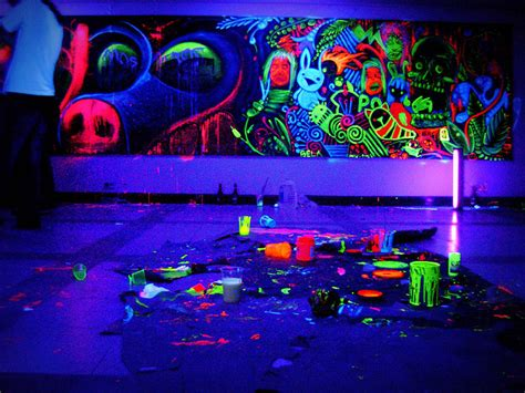 unique blacklight wall paint 8 neon black light room newsonair org