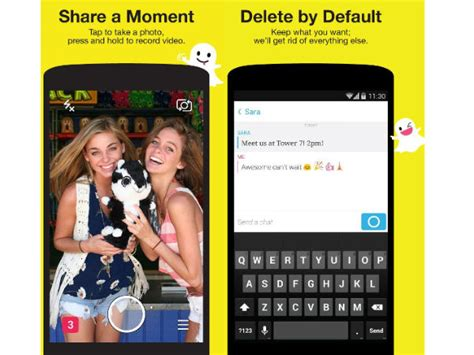 new snapchat update android snapchat rolled out new update for android and ios gizbot