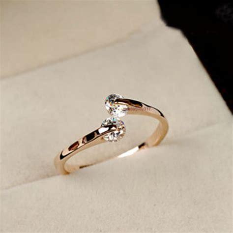 Simple Engagement Ring Cincin Tunangan 27 imixlot 2017 limited rings jewelry anillos fashion plated womens s ring cubic zirconia