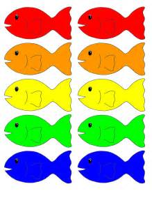 what color are fish fish coloring new calendar template site