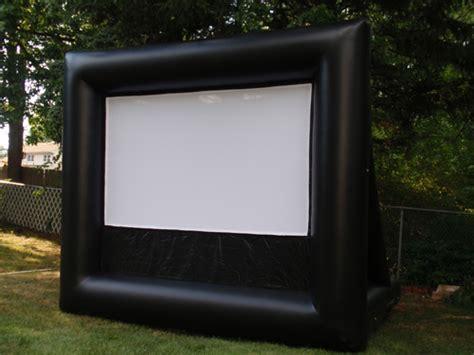 jersey outdoor moviesinflatable  screen rentals
