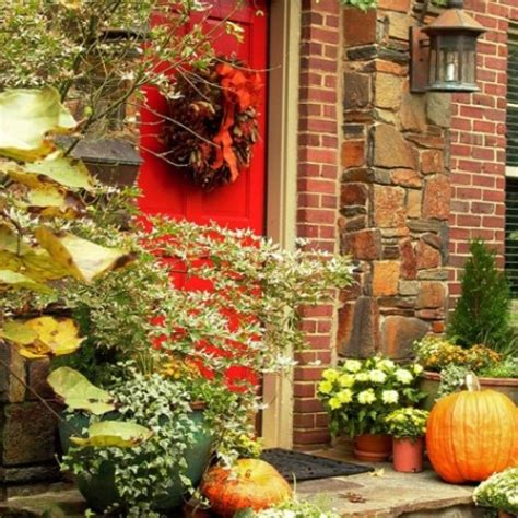 front porch fall decor 85 pretty autumn porch d 233 cor ideas digsdigs