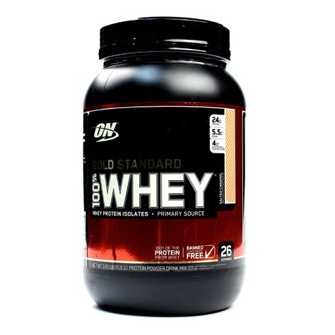 Whey Optimum Nutrition optimum nutrition gold standard 100 whey salted caramel 2 lbs evitamins