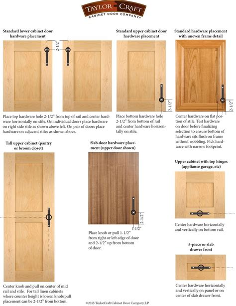 kitchen cabinets hardware placement 17 best ideas about cabinet door styles on pinterest