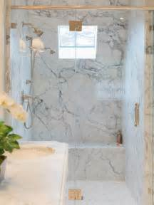 How To Make A Shower Bench Marble Shower Houzz
