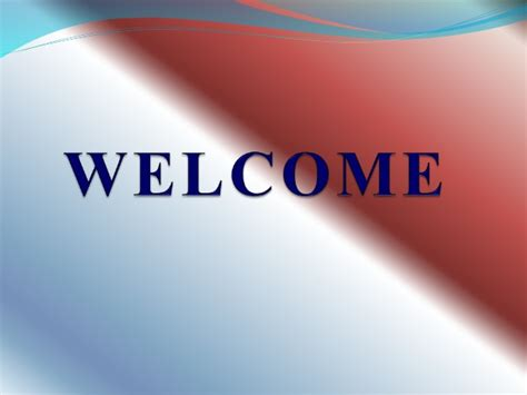 welcome slides for ppt presentation powerpoint presentation