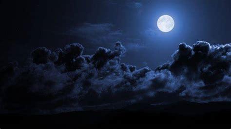 night moon sky wallpapers hd desktop  mobile