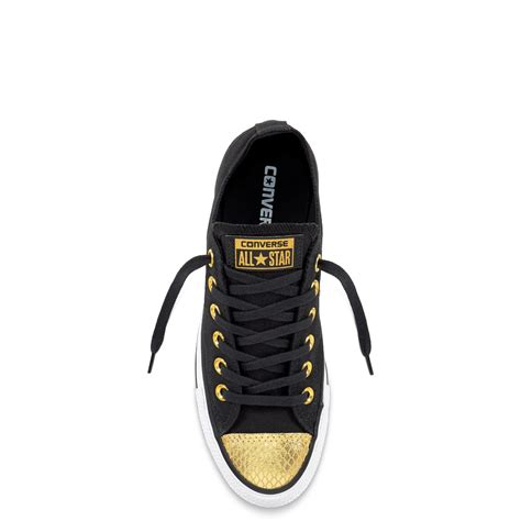 Converse Ct All Metallic Toecap Black chuck all metallic toecap converse gb