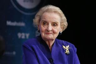 House Health Plan madeleine albright slams sanders on foreign policy while