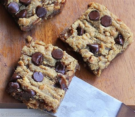 Peanut Butter Chocolate Chip Bars chocolate chip peanut butter bars gooey delicious