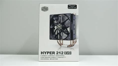 hyper 212 evo 120mm fan oem package cooler master hyper 212 evo review bjorn3d com