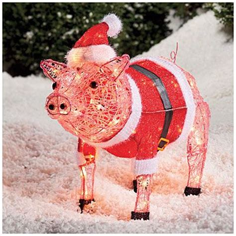 lighted pig lawn ornament christmas top 10 gift ideas for your favorite griller bbq sauce reviews best barbecue sauces