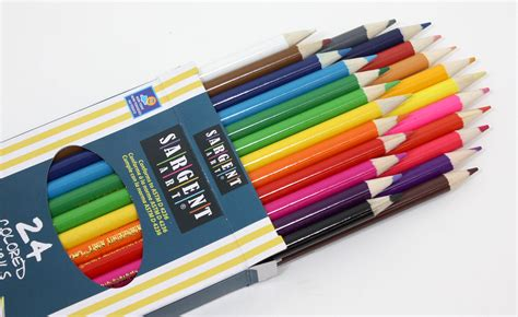 artist colored pencils sargent 22 7224 24 count assorted colored