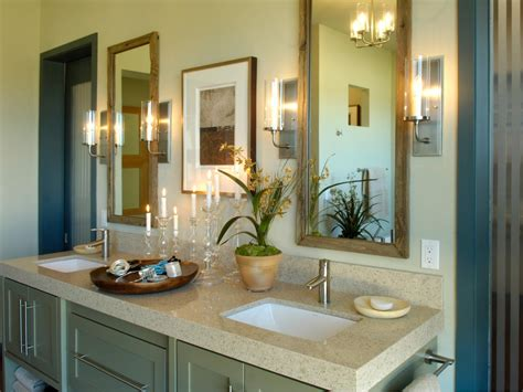 bathroom bathroom design with small vainty and curtains master bathrooms hgtv