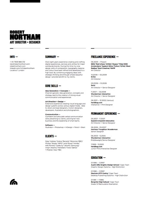 well designed resume creative resumes