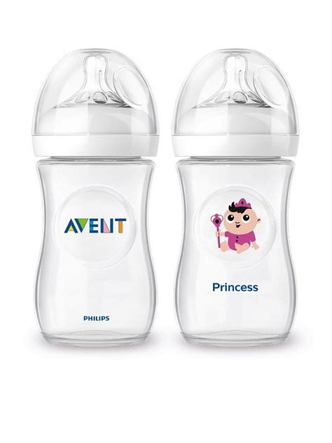 Philips Avent Bottle 2 0 260ml Pink avent philips 1xfeeding bottle 260ml 1xnatural bottle quot princess quot limited edition world of