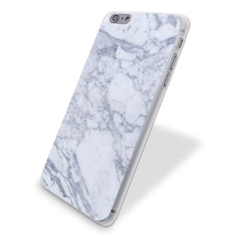 Iphone 6 6s Plus Marble Texture Gray Hardcase gray marble print plastic for iphone 6 6s plus 7 7 plus 5 5s se ebay