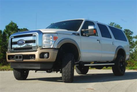 Ford Excursion Conversion Buy Used 2001 Ford Excursion Limited Custom 2013