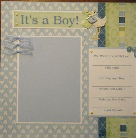 scrapbook layout baby boy baby boy quotes scrapbook quotesgram