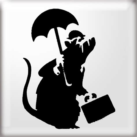 banksy stencil templates clubhaus rats are