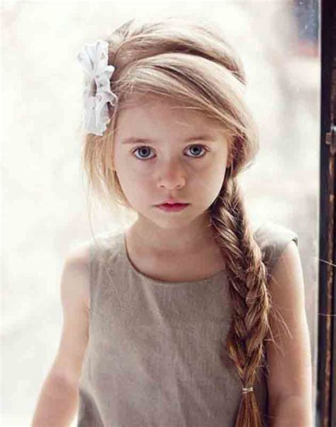 girl hairstyles puff cute side braid with front hair puff little girls