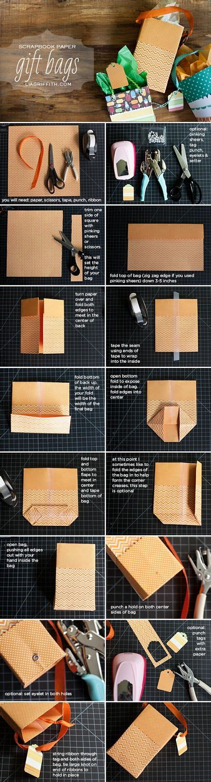 How To Make Small Bags Out Of Paper - 15 diy tutorials for gift wrappers pretty designs