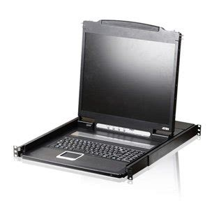 Aten 17 Inch 16 Port Lcd Kvm Cl5716m aten cl3000n 19 inch lcd console drawer comms express