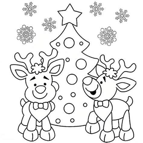imagenes navideñas para colorear de renos imagenes de renos para colorear y decorar ramos de