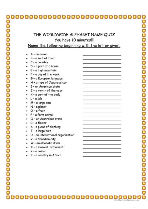 printable alphabet games for adults worldwide alphabet quiz worksheet free esl printable
